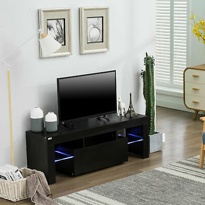 Chromium Extra Wide Tv Unit Stands In Trendy Modern Minimalist Tv Cabinet Living Room With High Gloss (View 4 of 10)