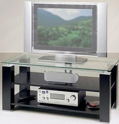 """Chromium Extra Wide Tv Unit Stands Throughout Well Known Elite Industries El992 Wide 45"""" Tv Stand – A/v Combination (View 5 of 10)"""