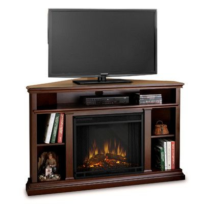 """Churchill Corner Unit Tv Stand For Tvs Up To 50"""" With With Regard To Favorite Neilsen Tv Stands For Tvs Up To 50"""" With Fireplace Included (View 10 of 10)"""