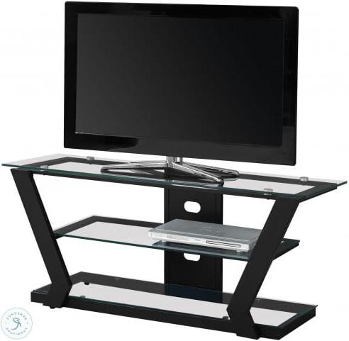 Coleman Furniture Regarding Glass Shelves Tv Stands (View 1 of 10)