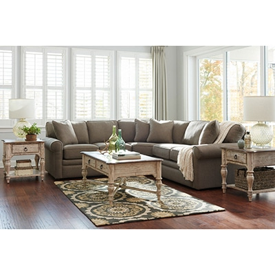 Collins Stationary Sectional – Home Furniture Co (View 9 of 10)