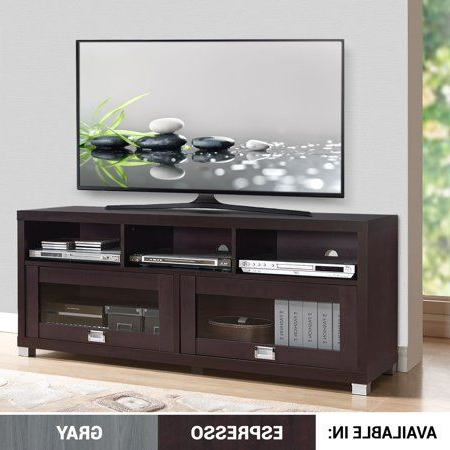 """Console Furniture, Tv Stand Wood, Tv Stand Cabinet Within Techni Mobili 58"""" Durbin Tv Stands In Espresso Or Grey Wood (View 9 of 10)"""