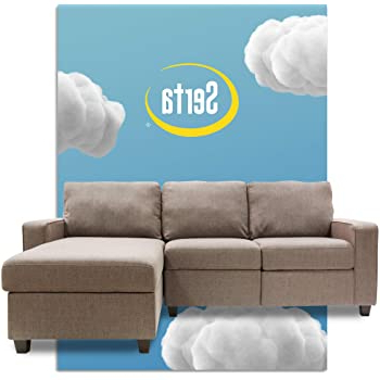 Copenhagen Reclining Sectional Sofas With Left Storage Chaise Within Most Current Amazon: Serta Palisades Reclining Sectional With Left (View 7 of 10)