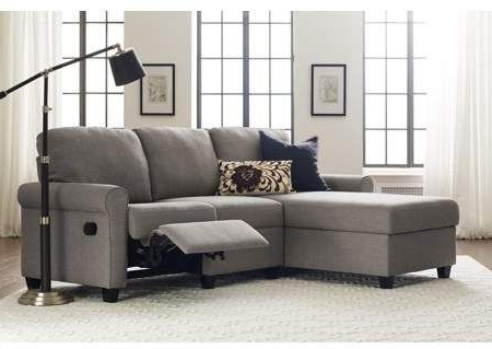 Copenhagen Reclining Sectional Sofas With Right Storage Chaise Pertaining To Well Known Serta Copenhagen Reclining Sectional With Left Storage (View 6 of 10)