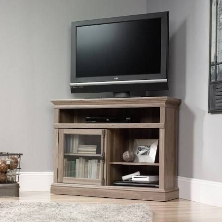 Corner Tv Inside Popular Carbon Tv Unit Stands (View 6 of 10)