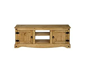 Corona Corner Tv Stands Regarding Well Known Corona Mexican Pine Large Flat Screen Plasma Tv Stand Unit (View 4 of 10)