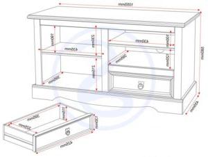 Corona Entertainment Unit – One Stop Furniture Shop In 2017 Corona Pine 2 Door 1 Shelf Flat Screen Tv Unit Stands (View 6 of 10)