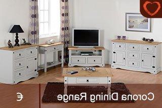 Corona Pine 2 Door 1 Shelf Flat Screen Tv Unit Stands Regarding Well Known Corona Grey Dining Set (View 9 of 10)