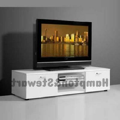 Corona Pine 2 Door 1 Shelf Flat Screen Tv Unit Stands Throughout Current New White Tv Cabinet Unit Stand Modern High Gloss 2 Doors (View 2 of 10)