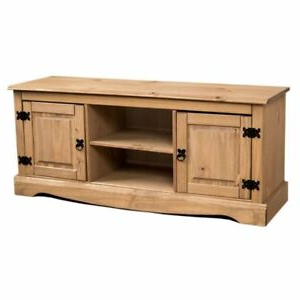 Corona Tv Stands In Widely Used Corona Flat Screen Tv Unit 2 Door 1 Shelf Mexican Solid (View 4 of 10)
