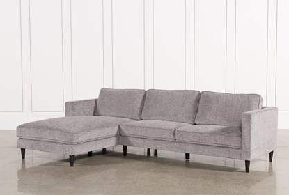 Cosmos Grey 2 Piece Sectional Sofa With Right Arm Facing Inside Most Popular 2pc Crowningshield Contemporary Chaise Sofas Light Gray (View 3 of 10)