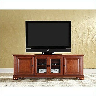 """Crosley Furniture Alexandria 60 Inch Low Profile Tv Stand Inside Widely Used Ahana Tv Stands For Tvs Up To 60"""" (View 2 of 10)"""