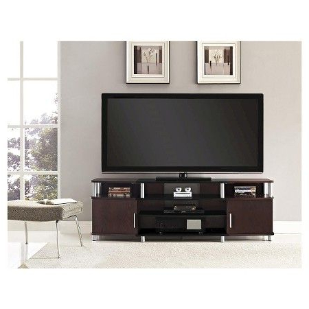 Current Carson Tv Stands In Black And Cherry Regarding Pin On Home Ideas (View 6 of 10)