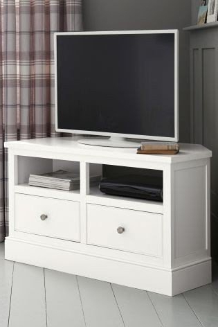 Current Corner Media Units – Ideas On Foter In Scandi 2 Drawer White Tv Media Unit Stands (View 4 of 10)
