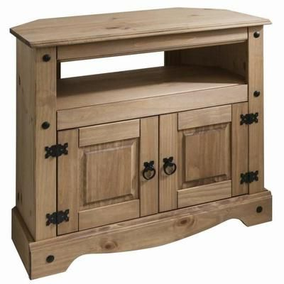 Current Corona Corner Tv Stands For Meuble Tv Écran Plat – Pin Massif – Collection Corona (View 5 of 10)