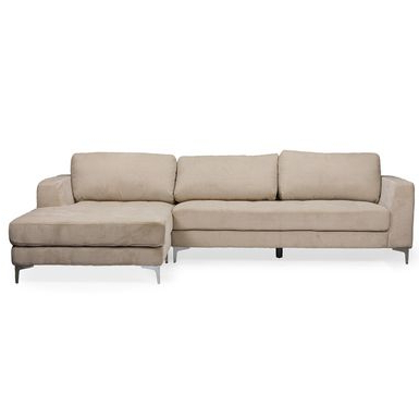 Current Rent To Own Agnew Contemporary Beige Fabric Right Facing In Kiefer Right Facing Sectional Sofas (View 1 of 10)