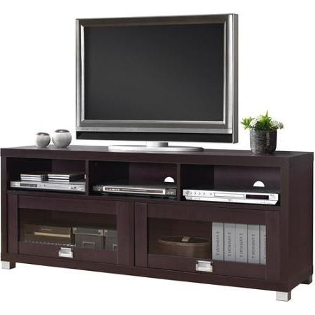 """Current Techni Mobili 58"""" Durbin Tv Stands In Espresso Or Grey Wood With Techni Mobili 58"""" Durbin Tv Stand For Tvs Up To  (View 4 of 10)"""