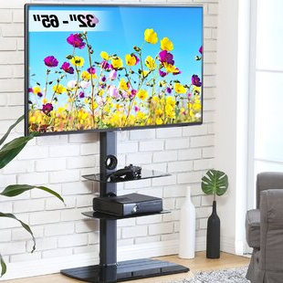 Current Tv Stands & Entertainment Centers You'll Love In 2021 For Randal Symple Stuff Black Swivel Floor Tv Stands With Shelving (View 10 of 10)