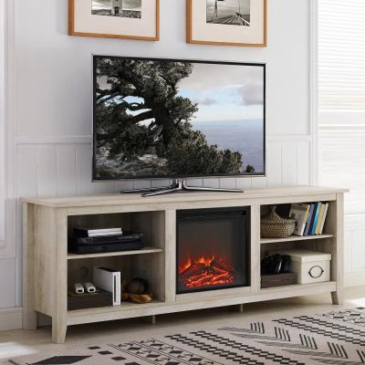 """Decorative Fire Glass/rocks – Fireplace Tv Stands Inside Preferred Chicago Tv Stands For Tvs Up To 70"""" With Fireplace Included (View 4 of 10)"""