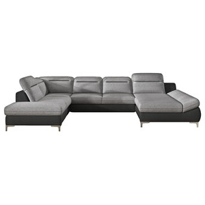 Dulce Right Sectional Sofas Twill Stone With Most Popular Reed 8 Piece Modular Reconfigurable Deep Seating Sofa (View 4 of 10)