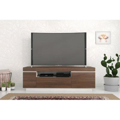 """Ebern Designs Persephone Tv Stand For Tvs Up To 68"""" Color Pertaining To Current Hal Tv Stands For Tvs Up To 60"""" (View 4 of 10)"""
