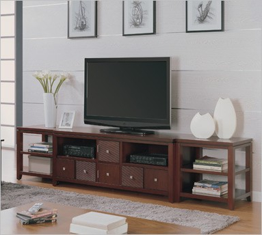 """Entertainmentcenterspot Introduces Kathy Ireland Home Within Newest Mission Corner Tv Stands For Tvs Up To 38"""" (View 9 of 10)"""