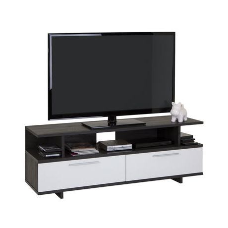 """Evelynn Tv Stands For Tvs Up To 60"""" For Popular South Shore Reflekt Tv Stand With Drawers, For Tvs Up To (View 6 of 10)"""