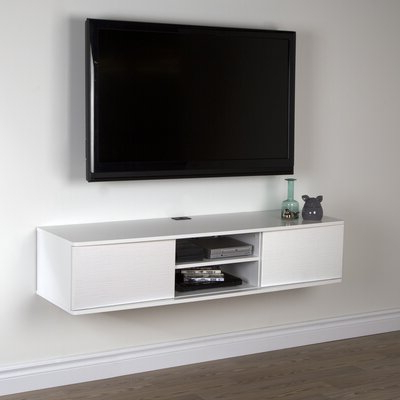 """Ezlynn Floating Tv Stands For Tvs Up To 75"""" Intended For Best And Newest Flat Panel Mount Tv Stands You'll Love In  (View 4 of 10)"""