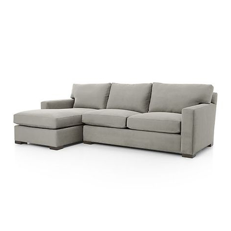 Famous 2pc Maddox Right Arm Facing Sectional Sofas With Chaise Brown With Axis Ii 2 Piece Sectional Sofa (View 5 of 10)