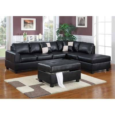 Famous 3pc Polyfiber Sectional Sofas Regarding Klaussner Furniture Genera Leather Modular Sectional In (View 5 of 10)