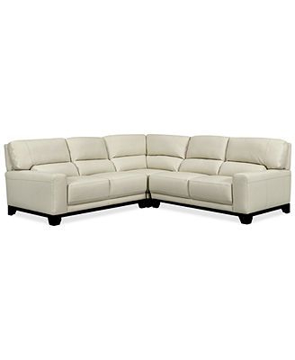 Famous 3pc Polyfiber Sectional Sofas Regarding Luke Ii Leather 3 Piece Sectional Sofa (2 Loveseats (View 10 of 10)
