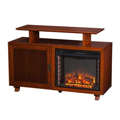 Famous Boston Tv Stands Within Boston Loft Furnishings Howington Electric Fireplace Media (View 2 of 10)