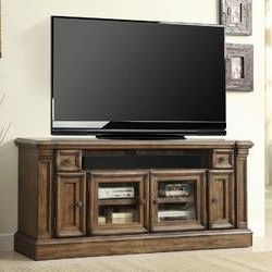 """Famous Friedlander Solid Wood Entertainment Center For Tvs Up To In Giltner Solid Wood Tv Stands For Tvs Up To 65"""" (View 5 of 10)"""