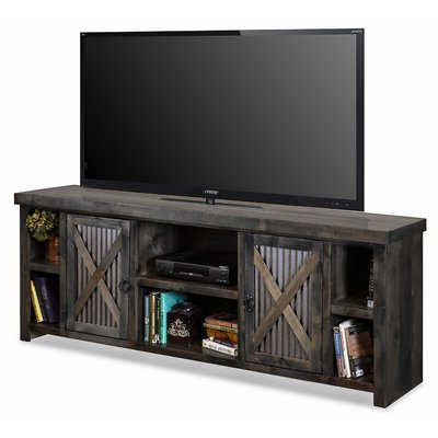 """Famous No Assembly Required Tv Stand Tv Stands & Entertainment Regarding Miconia Solid Wood Tv Stands For Tvs Up To 70"""" (View 2 of 10)"""