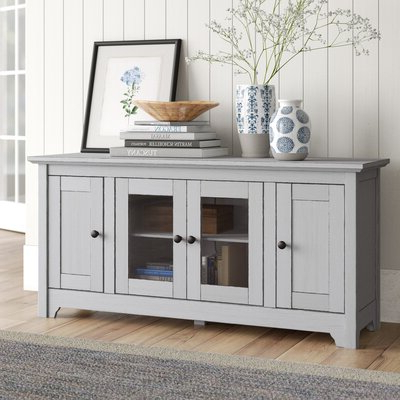 Farmhouse & Rustic 50 54 Inch Tv Stands (View 3 of 10)