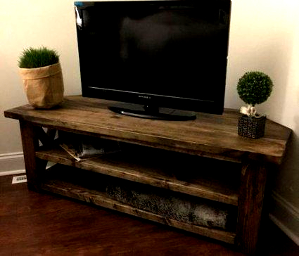 Fashionable 28 Best Ideas Farmhouse Living Room Tv Stand Corner Tv # Throughout Robinson Rustic Farmhouse Sliding Barn Door Corner Tv Stands (View 10 of 10)