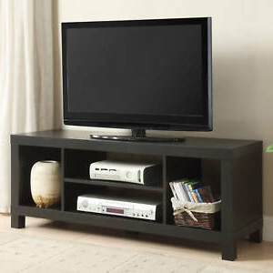"""Fashionable 42 Inch Tv Stand Entertainment Center Home Theater Media Intended For Wood Corner Storage Console Tv Stands For Tvs Up To 55"""" White (View 5 of 10)"""