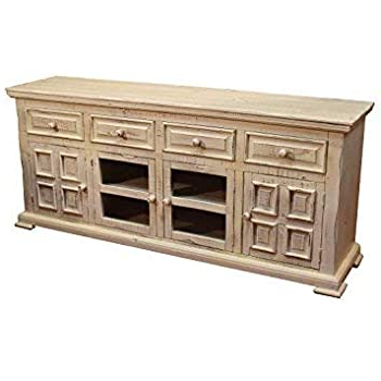 Fashionable Alden Design Wooden Tv Stands With Storage Cabinet Espresso With Amazon: Crafters & Weavers Keystone Rustic Solid Wood (View 4 of 10)