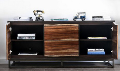 Fashionable Fulton Tv Stands Intended For Fulton – Rustic Media Chest Cm (View 1 of 10)