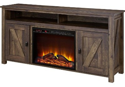 Fashionable Top 10 Best Electric Fireplace Tv Stands In 2020 Review With Kado Corner Metal Mesh Doors Tv Stands (View 7 of 10)