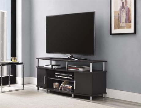 """Favorite Carson Tv Stand For Tvs Up To 50"""", Espresso (View 4 of 10)"""