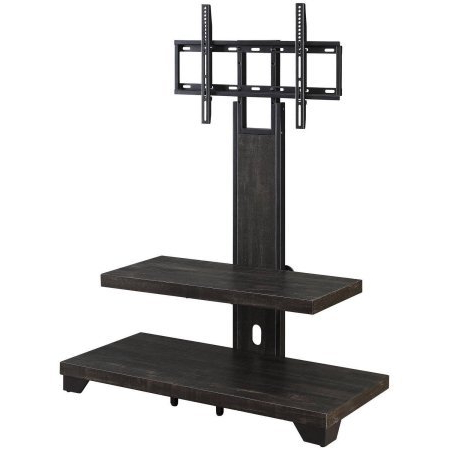 """Favorite Glass Shelves Tv Stands For Tvs Up To 50"""" Inside Whalen 2 Shelf Tv Stand With Mount For Tvs Up To 50"""" Deals, (View 10 of 10)"""