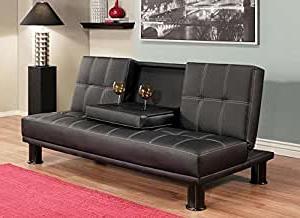 Favorite Prato Storage Sectional Futon Sofas With Regard To Amazon: Luxury Modern Convertible Sofa Futon Bed, Twin (View 10 of 10)