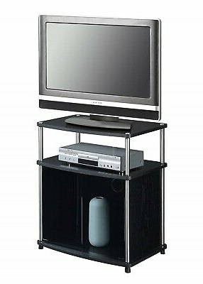Favorite Small Tv Stand For Small Spaces With Storage Cabinet Flat Regarding Manhattan Compact Tv Unit Stands (View 3 of 10)