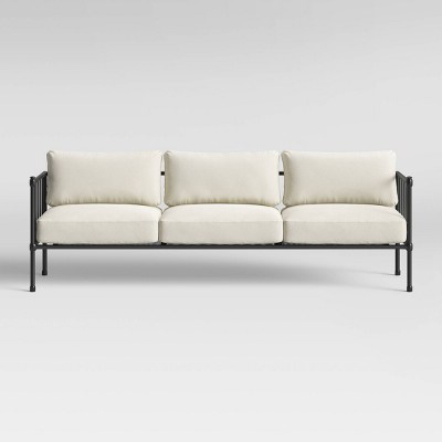 Fernhill Metal Patio Sofa Linen – Threshold™ (View 3 of 10)