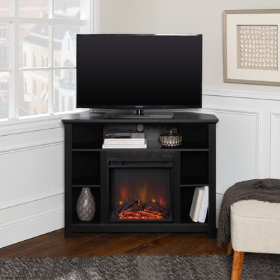 """Find The Perfect Fireplace Tv Stands & Entertainment Inside Most Recently Released Chicago Tv Stands For Tvs Up To 70"""" With Fireplace Included (View 3 of 10)"""