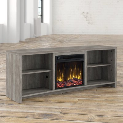 """Find The Perfect Fireplace Tv Stands & Entertainment With Regard To Preferred Chicago Tv Stands For Tvs Up To 70"""" With Fireplace Included (View 7 of 10)"""