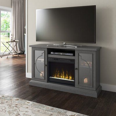 """Fireplace Tv Stand, Fireplace, Electric Intended For Lorraine Tv Stands For Tvs Up To 60"""" With Fireplace Included (View 8 of 10)"""