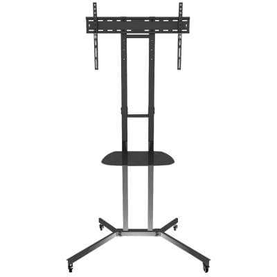 """Flat Screen Lcd / Led / Plasma Tv Trolley Stand – 32"""" To Intended For Trendy Paulina Tv Stands For Tvs Up To 32"""" (View 9 of 10)"""