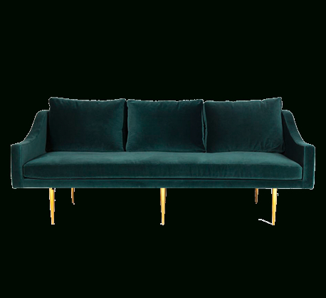 Florence Mid Century Modern Velvet Left Sectional Sofas In Most Current Sofa Plywood Frame, Velvet Fabric Upholstery, 3 Seats,  (View 5 of 10)